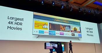 TV QLED Samsung sau những 'cú bắt tay lịch sử' với Apple và Universal Picture Home