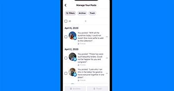 Facebook giới thiệu công cụ mới xóa bài viết cũ hàng loạt