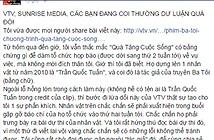 Sunrise sẽ kiện Thăng Fly vì bị xúc phạm trên Facebook