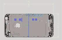 Lộ ảnh nội thất và kích thước iPhone 6s