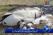 Drone quân sự Made in China bị rơi ở Pakistan
