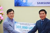 Samsung hỗ trợ 22 tỷ đồng cho người dân nghèo mua trâu
