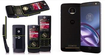 Smartphone Apple, Samsung, HTC tiến hóa thế nào sau 10 năm