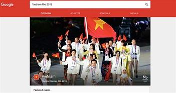 Google mở trang riêng cho Olympic 2016 tại Brazil