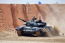 Mãn nhãn cảnh xe tăng T-72B3 tranh tài Tank biathlon 2016