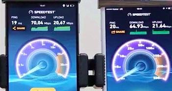 """Cộng đồng mạng """"bóc phốt"""" video đo tốc độ 4G trên Bphone 2 bằng... Wi-Fi"""