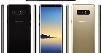 Galaxy Note 8 chắc chắn trang bị pin 3.300mAh