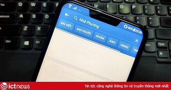 Facebook gặp lỗi gửi ảnh, khó truy cập tại Việt Nam