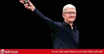 """Tiền nhiều để làm gì: Apple chi kỷ lục cho """"học thuyết Tim Cook"""""""