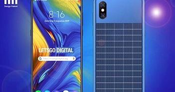 Xiaomi có smartphone tự sạc bằng pin mặt trời, màn hình tràn viền