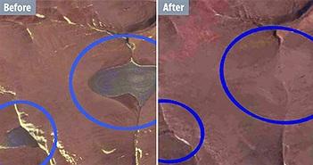 Hai chỏm băng của Canada đã biến mất hoàn toàn khỏi Bắc Cực