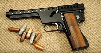 """Những khẩu súng """"dị"""" nhất thế giới"""