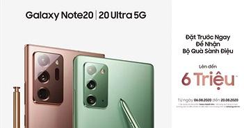 Galaxy Note20 series ra mắt tại Việt Nam: giá từ 24 triệu, quà 6 triệu, bán từ 21/8