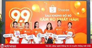Shopee.vn sắp khởi động ngày bán hàng giá từ 9000 đồng