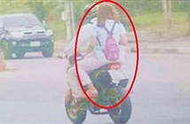 Vợ ngã ngửa khi xem bức ảnh ghi hình chồng vi phạm luật giao thông