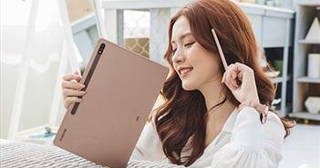 Galaxy Tab S7+, bạn đồng hành tối ưu cho công việc và giải trí