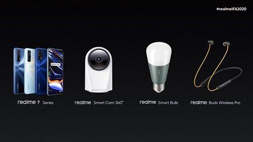 Realme công bố Smart TV 55, Buds Air Pro và Buds Wireless Pro tại IFA 2020