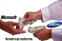 Nhờ Android, Microsoft kiếm được 1 tỷ USD từ Samsung năm 2013