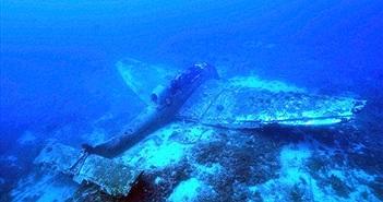 Phát hiện xác máy bay ném bom ở đáy đại dương suốt 70 năm
