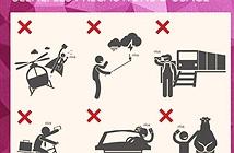 Asus nêu những nguy hiểm của chụp selfie để quảng bá Zenfone Selfie