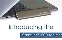 Transcend ra mắt SSD di động StoreJet 600 cho máy Mac
