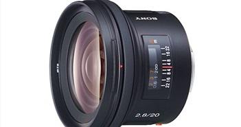 Sony sẽ sớm ra mắt lens FE 20mm F/2.8 mới: mỏng nhẹ, giá tốt