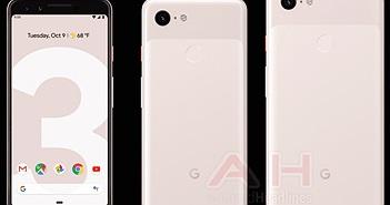 Trọn bộ sưu tập sắc màu Google Pixel 3 và Pixel 3 XL lộ diện