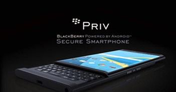 BlackBerry Priv sẽ được nhận 3 loại cập nhật bảo mật