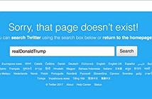 Nhân viên Twitter vô tình xóa mất tài khoản của Tổng thống Mỹ trong ít phút