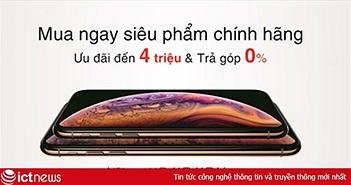 Ngày đầu tiên mở bán của bộ ba siêu phẩm XR/XS/XS Max tại Việt Nam