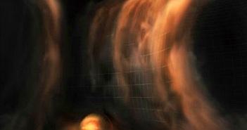 Phát hiện choáng ngợp thác khí trong vành đĩa hành tinh HD 163296