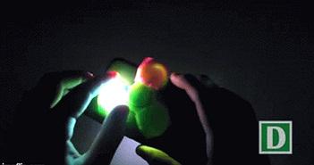 Mẹo chế đèn chớp như trong hộp đêm với spinner