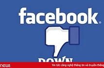 Facebook và Facebook Messenger vừa gặp sự cố trên toàn cầu