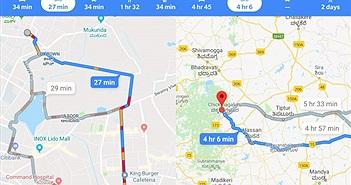 Google Maps vừa mở thêm chế độ chỉ đường cho xe máy, xe đạp