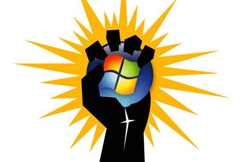 Thị phần Windows 7 xuống dưới 50% lượng máy tính Windows