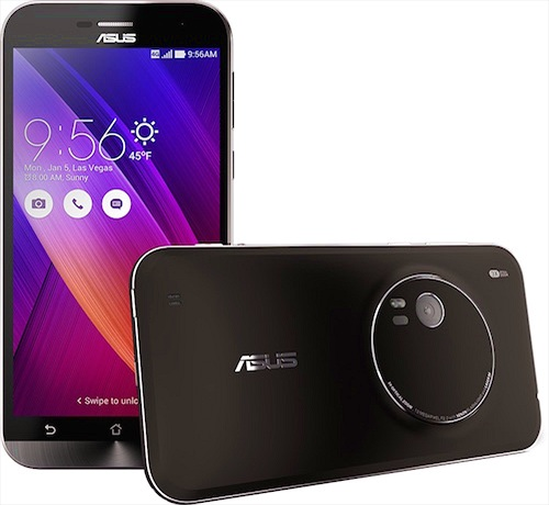 Smartphone zoom quang học 3X mỏng nhất thế giới tới từ Asus