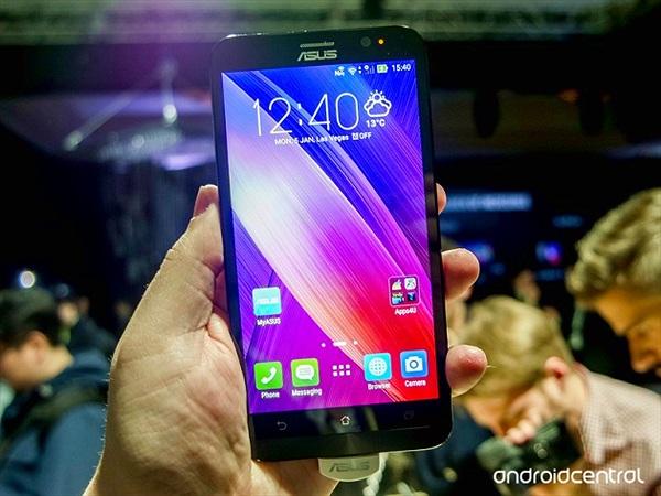 Trên tay ASUS ZenFone 2: điện thoại 4GB RAM đầu tiên trên thế giới