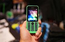 Trên tay Nokia 215: Trẻ trung, bắt mắt, giá siêu rẻ
