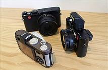 Cận cảnh bộ 3 máy ảnh Leica D-Lux, X và X-E mới về Việt Nam