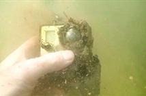 GoPro sống sót sau 17 tháng dưới đáy sông