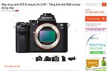 Sony Việt Nam công bố giá bán α7Ⅱ: body 38 triệu, kit 44 triệu