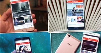 """Những smartphone RAM """"khủng"""" cho mùa mua sắm cuối năm"""