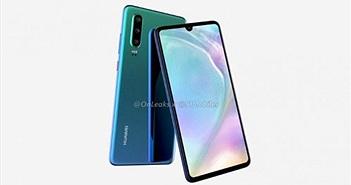 Xuất hiện thiết kế và cấu hình chính thức của Huawei P30