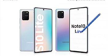 Samsung lộ giá bán của Galaxy S10 Lite và Note 10 Lite