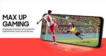 Galaxy M02s ra mắt: Snapdragon 450, ba camera, pin 5000mAh, giá 218 USD