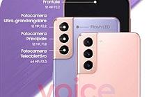 Rò rỉ chi tiết thông số camera bộ ba Samsung Galaxy S21, S21 + và S21 Ultra