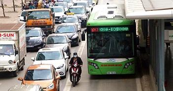 Buýt nhanh bắt đầu thu phí