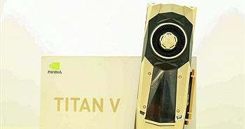 Cận cảnh NVIDIA Titan V, card đồ họa giá 130 triệu đồng tại Việt Nam