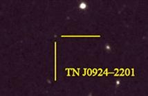 Đường phát thải carbon trong thiên hà vô tuyến xa nhất