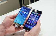 Video Samsung Galaxy S6 Edge và iPhone 6 tranh tài về tốc độ